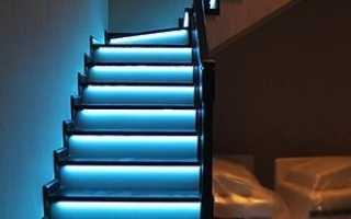 Освещение лестницы в доме: рекомендации и требования