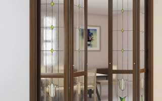 Складная межкомнатная дверь-книжка: экономия площади и стильный дизайн