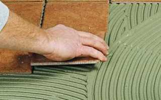 Плиточный клей: состав, как развести своими руками
