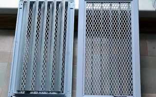 Выбор и расчет вентиляционной решетки для камина