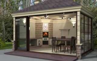 Строим летнюю кухню своими руками: очень простая конструкция