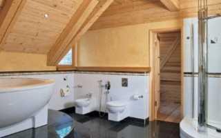 Гидроизоляция ванной комнаты в деревянном доме; от А до Я