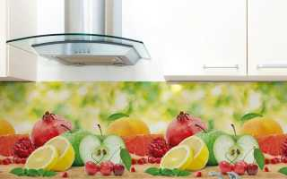 Как крепить фартук из пластика на кухне
