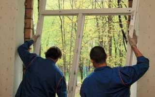 Подробная инструкция по демонтажу пластиковых окон
