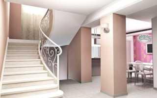 Белая лестница в интерьере: варианты исполнения и фото