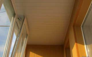 Из чего сделать потолок на балконе: ТОП 8 вариантов отделки