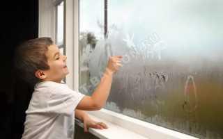 Конденсат на окнах: как бороться