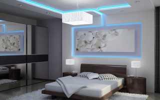 Особенности и примеры применения многоуровневых потолков из гипсокартона с подсветкой
