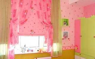 Короткие шторы для детской: украшение, защита от солнца и безопасность для ребёнка