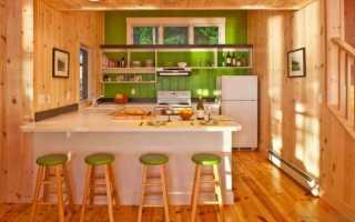 12 идей отделки кухни вагонкой в частном доме или на даче