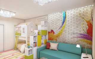 Как совместить гостиную и детскую в одной комнате
