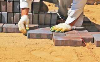 Пошаговая инструкция укладки; тротуарной плитки своими руками; правильные дорожки на даче из брусчатки