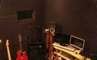 Шумоизоляция акустическим поролоном