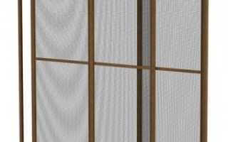 Раздвижные москитные сетки для оконных раздвижных систем