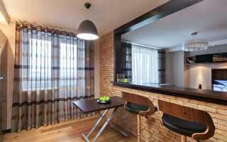 Кухни-студии с барной стойкой: фото интерьеров и варианты дизайна