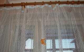 Как выглядит тюль паутинка на окнах