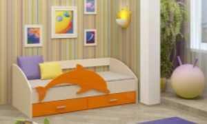Детская кровать; Дельфин