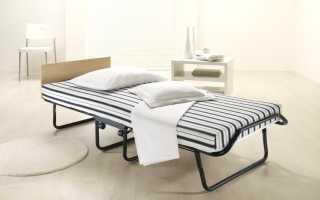 Раскладная кровать; подбор стильных и современных раскладушек