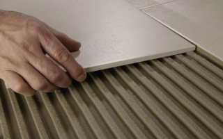 Плиточный клей для наружных работ