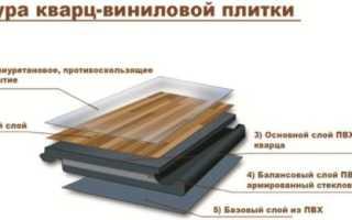 Особенности кварцвиниловой плитки с замковым соединением