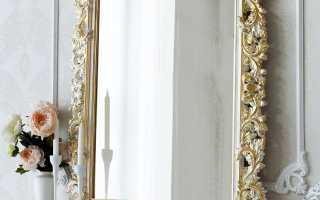 Зеркало в раме; 130 фото лучших идей создания оригинального оформления своими руками