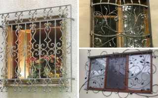 Решетки на; окна; 30 фото в; декоре фасада и; внутри дома
