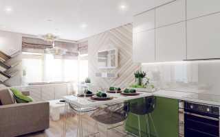 15 лучших вариантов дизайна кухни-гостиной площадью 15 квадратов