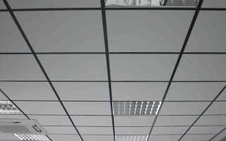 Размеры потолочной плитки Армстронг и стоимость панелей