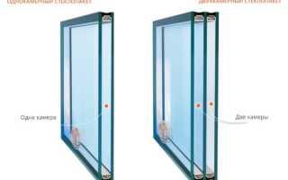 Обзор однокамерных и двухкамерных стеклопакетов