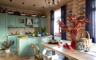 50 идей дизайна кухни в деревянном доме