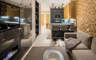 Как оформить дизайн интерьера кухни-гостиной 17 кв м