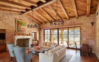 Потолочные балки в интерьере – декоративный элемент или архитектурная особенность