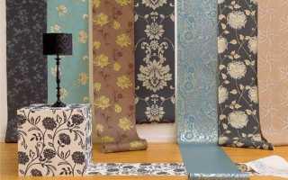 Обои в интерьере гостиной – выбор цвета и комбинирование