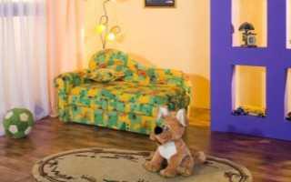Детский выкатной диван: особенности и выбор