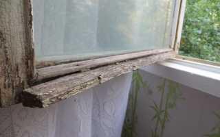 Обновляем старые деревянные окна — покраска