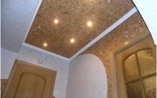 Пробковые панели для потолка (7 фото)