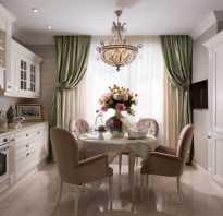 Интерьер совмещенной кухни-гостиной в классическом стиле — особенности современного дизайна