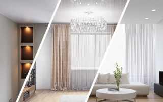 Какой натяжной потолок лучше выбрать: глянцевый, матовый или сатиновый