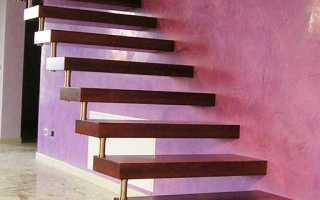 Консольная лестница: особенности конструкции и используемые материалы
