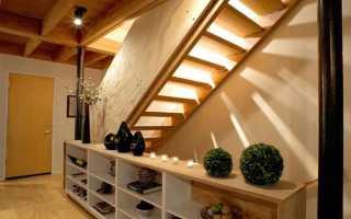 Способы оформления лестницы в частном доме