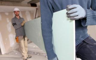 Одноуровневый потолок из гипсокартона с подсветкой: монтаж и фото
