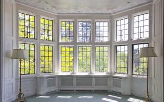 Французские окна в частном доме: за и против