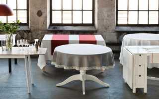 Стол-книжка Ikea в интерьере