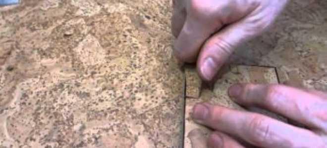 Рекомендации по ремонту обычного пробкового пола, и как предотвратить повреждения