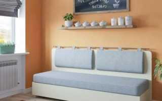 Узкие диваны для кухни: виды и советы по выбору