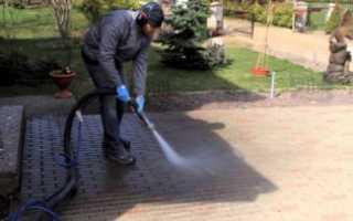 Как избавиться от высолов на тротуарных плитках и брусчатке, эффективные способы
