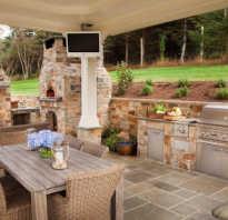 Какой должна быть летняя кухня в частном доме