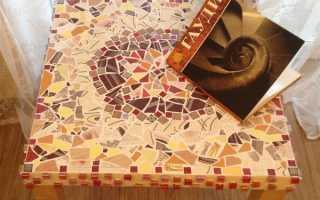Как меня вдохновил Гауди, или мозаика handmade