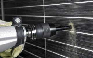 Как просверлить отверстие в кафельной плитке на стене – практическое руководство