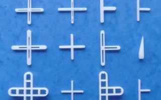 Выбираем крестики для укладки плитки: виды и особенности